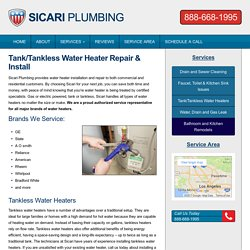 Water Heater Repair Installation Services