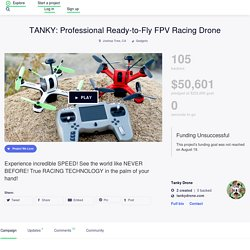 TANKY: Professional Ready-to-Fly FPV Racing Drone by Tanky Drone