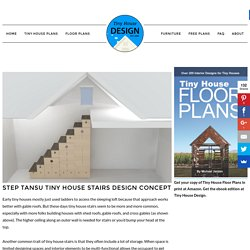 Step Tansu Tiny House Stairs Design Concept - Tiny House Design