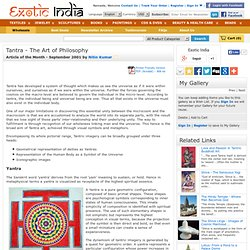 Tantra - The Art of Philosophy