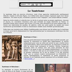 Tantrisme Shivaïsme et Bouddhisme tibétain