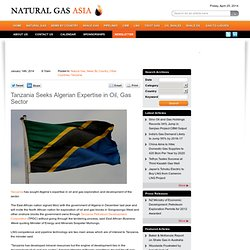 Tanzania asks for Algerian help in oil, gas sector