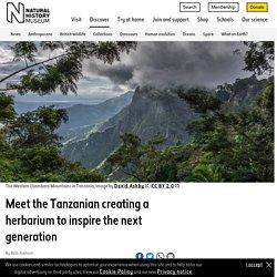 Meet the Tanzanian building his own herbarium