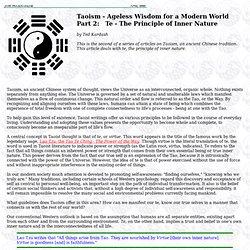 Taoism - Ageless Wisdom for a Modern World - Part 2