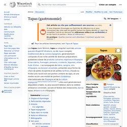 Tapas (gastronomie)