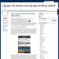 Best Apps -The absolute 1000 best apps for iPhone, Android