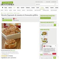 Tapenade de tomates et d'amandes grillées