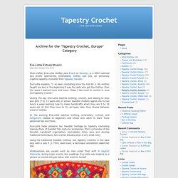 Tapestry Crochet, Europe « Tapestry Crochet