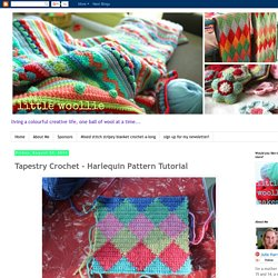 Tapestry Crochet - Harlequin Pattern Tutorial