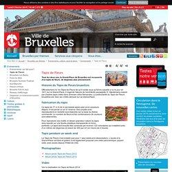 Août (1 weekend 1 an sur 2) : tapis de fleurs à la Grand-Place de Bruxelles !
