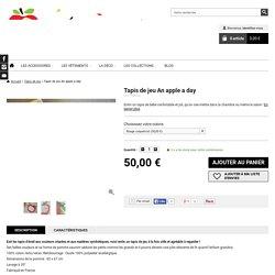 Tapis de jeu An apple a day - Tapis de jeu - Les Pépinos