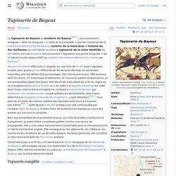 Tapisserie de Bayeux