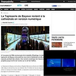 La Tapisserie de Bayeux revient à la cathédrale en version numérique