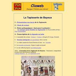 La Tapisserie de Bayeux, présentation, choix de scènes, legende en latin