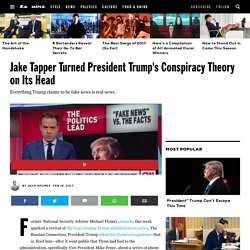 Jake Tapper Shuts Down President Trump's Fake News Conspiracy Theory