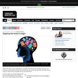 Tapping the brain's magic