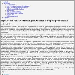 Tapvalue : le véritable tracking multiscreen n'est plus pour demain