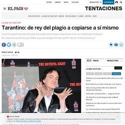 Tarantino: de rey del plagio a copiarse a sí mismo