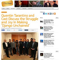 quentin tarantino as a modern auteur film studies essay Tarantino, quentin,  'reanimating the auteur' [online at],   screening the past  an essay in the online film studies journal.