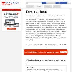 Tardieu, Jean