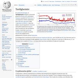 Tardiglaciaire