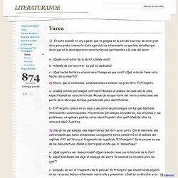 Tarea - literaturanoe