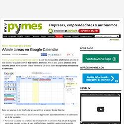 Añade tareas Google Calendar