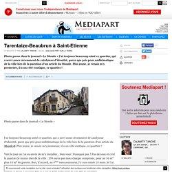 Tarentaize-Beaubrun à Saint-Etienne
