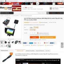 Jjrc h16 Yizhan tarentule x6 WLtoys v666 v686g V222 xk caméra 720p x251 5.8g FPV avec moniteur C4002 Vente - Banggood.com