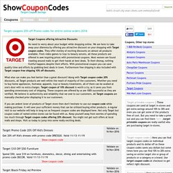 target coupons 10% off