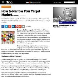 How to Narrow Your Target Market