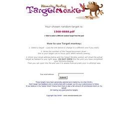 Target Monkey - Remote viewing targets