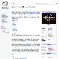 Human Target (1992 TV series)