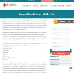 Targeted Email List