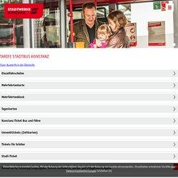 Tarife Stadtbus Konstanz