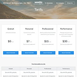 Pricing - Compare Website Builder Plans and Pricing