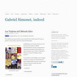 Las Tarjetas del Método Ideo - Gabriel Simonet, indeed Gabriel Simonet, indeed