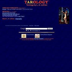 Tarology - L. A. Lothian