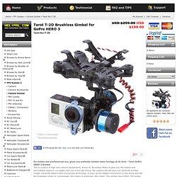 Tarot T-2D Brushless Gimbal for GoPro HERO 3