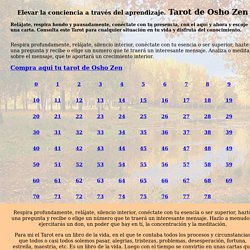 Tarot de Osho Zen