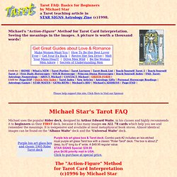 Tarot FAQ by Michael Star