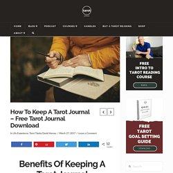 Tarot Journal - A How To Guide Plus FREE Tarot Journal Template