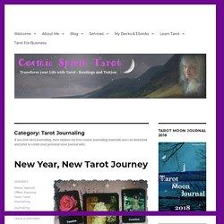 Tarot Journaling - Cosmic Spirit Tarot