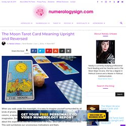 The Moon Tarot Card Meaning Upright and Reversed - Tarot Card Meaning