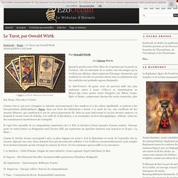 Le Tarot, par Oswald Wirth « Magie