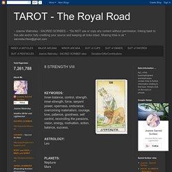 TAROT - The Royal Road: 8 STRENGTH VIII