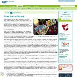 Tarot Suit of Wands – Keen