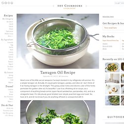Tarragon Oil Recipe