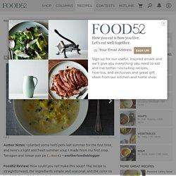 Tarragon Lemon Summer Squash Soup recipe on Food52.com