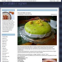 Tårta med blåbär och hallon!